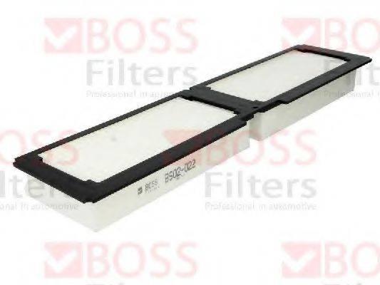 Фильтр, воздух во внутренном пространстве BOSS FILTERS BS02-022