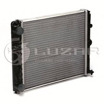 Радиатор, охлаждение двигателя LUZAR LRc 04100b
