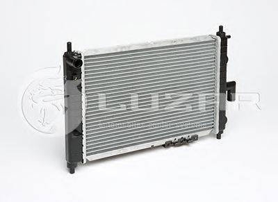 Радиатор, охлаждение двигателя LUZAR LRc DWMz01141