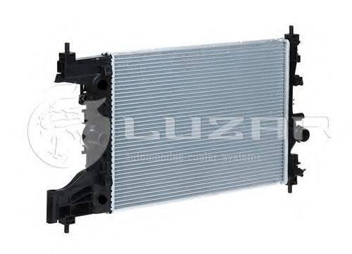 Радиатор, охлаждение двигателя LUZAR LRc 0550
