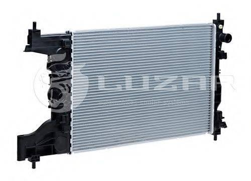 Радиатор, охлаждение двигателя LUZAR LRc 0551
