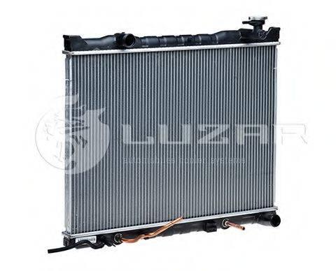 Радиатор, охлаждение двигателя LUZAR LRc 081E3