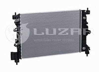 Радиатор, охлаждение двигателя LUZAR LRc 05196