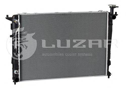 Радиатор, охлаждение двигателя LUZAR LRc 081P7