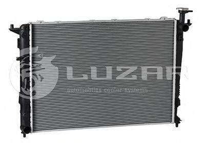 Радиатор, охлаждение двигателя LUZAR LRc 08P5