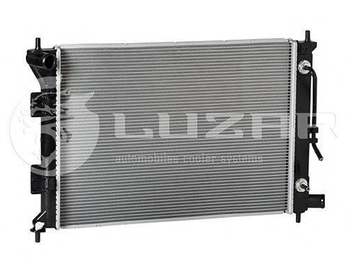 Радиатор, охлаждение двигателя LUZAR LRc 081X3