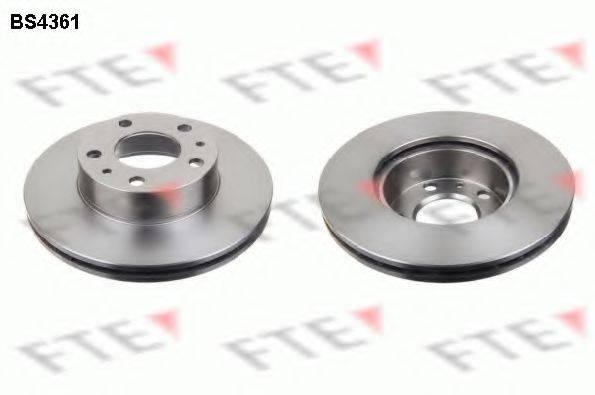 Тормозной диск FTE BS4361