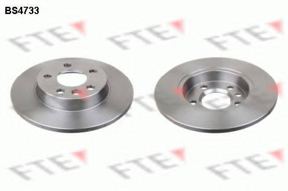 Тормозной диск FTE BS4733