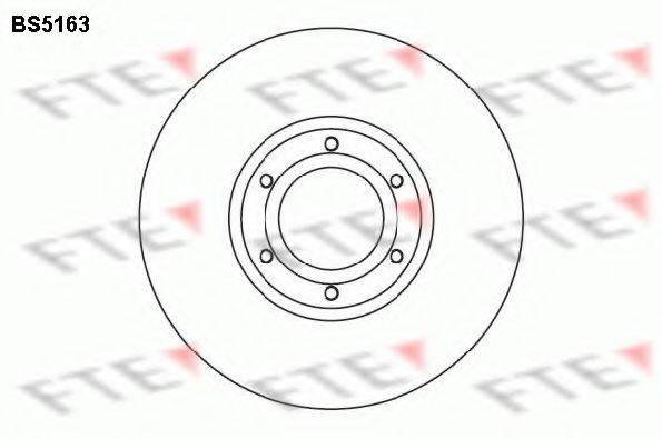Тормозной диск FTE BS5163