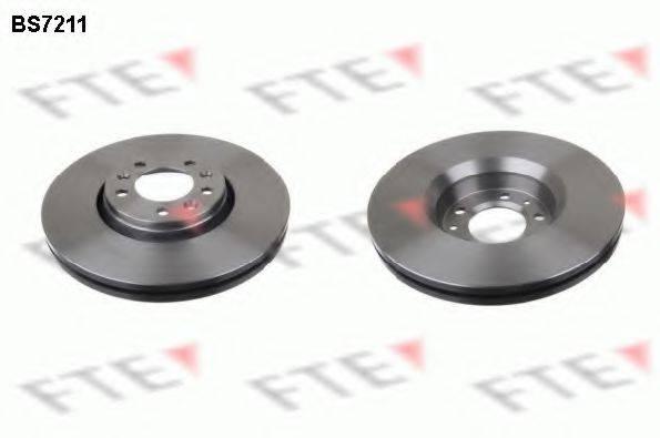 Тормозной диск FTE BS7211
