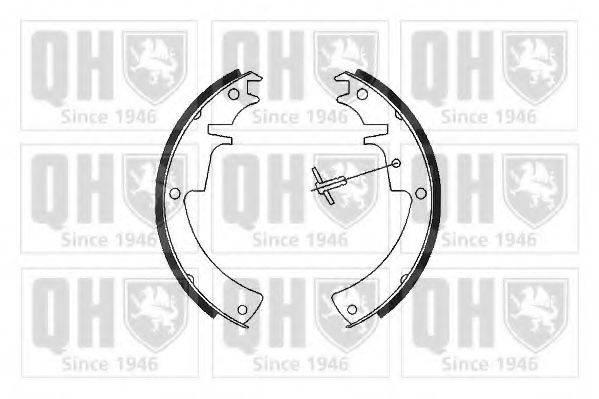 Комплект тормозных колодок QUINTON HAZELL BS711