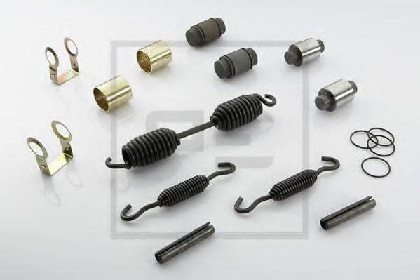 пальцевой комплект тормозных колодок PE AUTOMOTIVE 266.689-00A